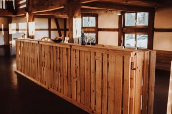 Paletten-Bar, gerade Bauform