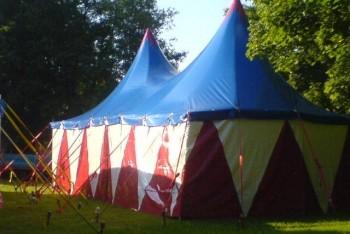 Zirkuszelt 12x6 Meter mieten