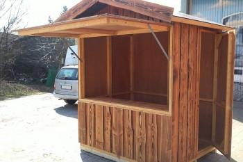 Holzhütte 1,5x2m mieten