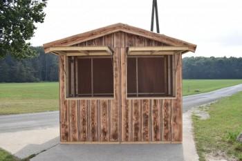 Holzhütte 3x2 Meter mieten