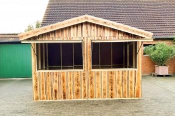 Holzhütte 4x2 Meter mieten